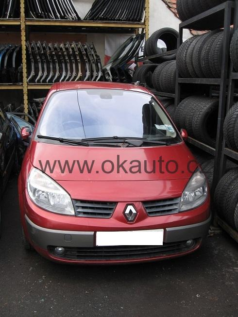renault rozeb ran vozy renault scenic ii 1 9 dci r v 2005 okauto cz. Black Bedroom Furniture Sets. Home Design Ideas